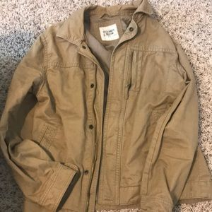 Men's khaki jacket